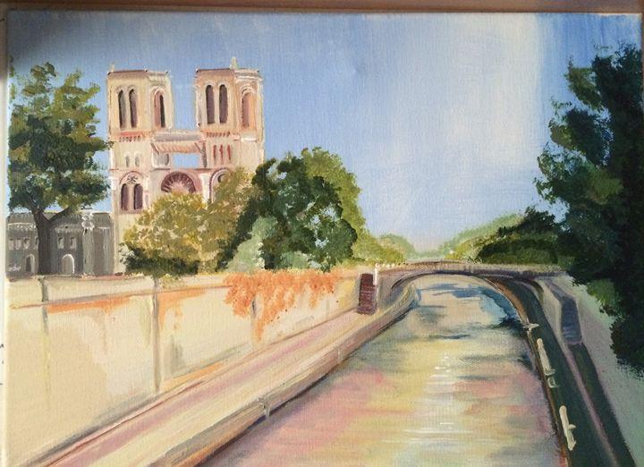 Notre Dame de Paris - Monique Feu