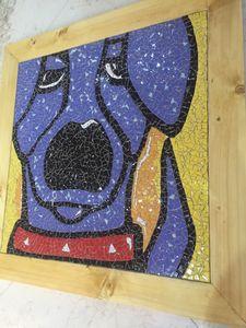 shattered tiles