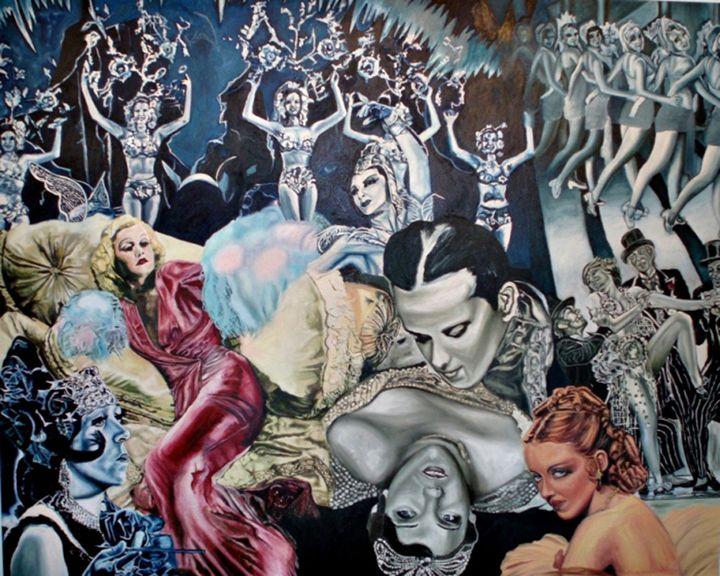Old Hollywood - Julie Orr Art