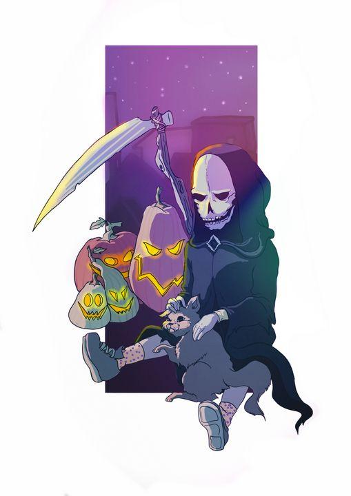 Is it Halloween yet? - nja sketches