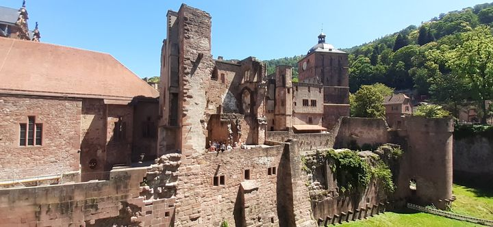A - Heidelberg´s middle age castle - Lola Bolena