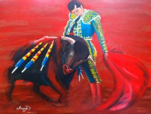 A - Bullfighting