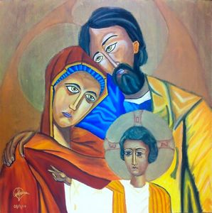 A - Holy Family (Byzantine´s Icon)