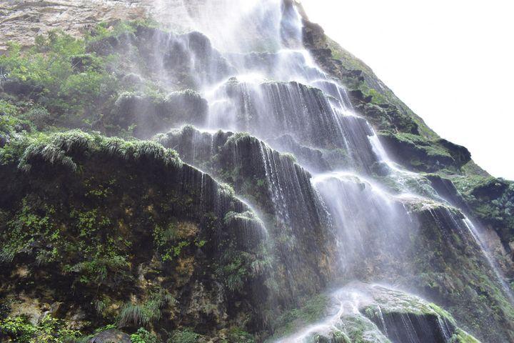 A - awesome waterfall view Mexico - Lola Bolena