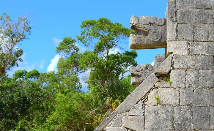 A - Mayan Architecture Mexico - Lola Bolena