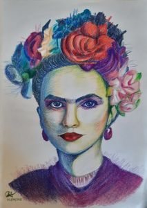 A - A Frida Kahlo Portrait