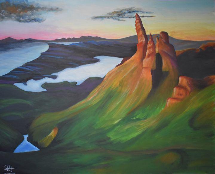 A - A dreamy Landscape - Lola Bolena