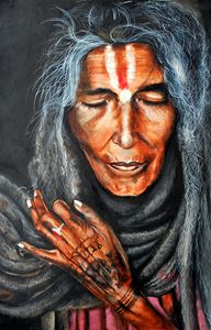 Sadhvi- The Old Lady