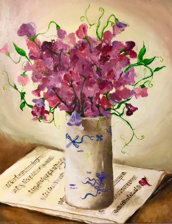 Rose vase - Sooji