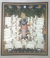 Pichwai Painting Artist