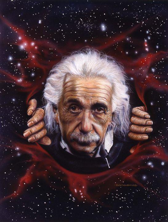 Einstein - Scoggins Art