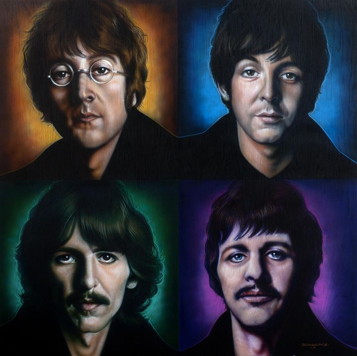 The Beatles 2013 - Scoggins Art