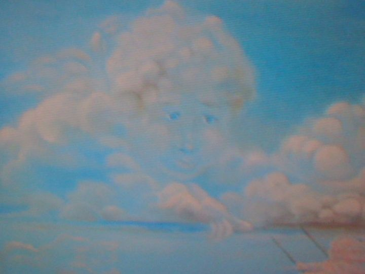 Angels in the clouds SOLD - Marina Mos
