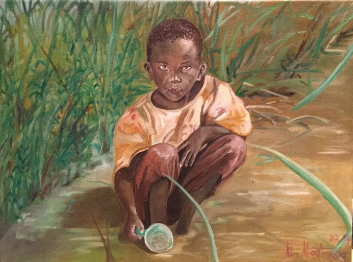 Hungry Africa - Marina Mos