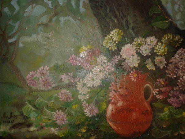 Pot with flowers - Marina Mos
