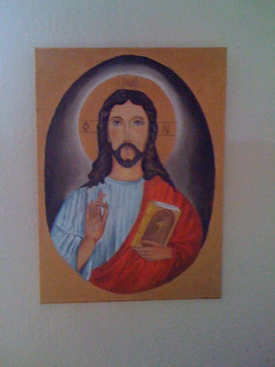 Icon of Jesus Christ - Marina Mos