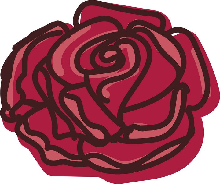 Rose Illustration - Ashley Rose Rothwell