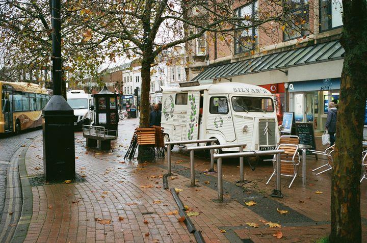 Taunton in Autumn - Film Photography