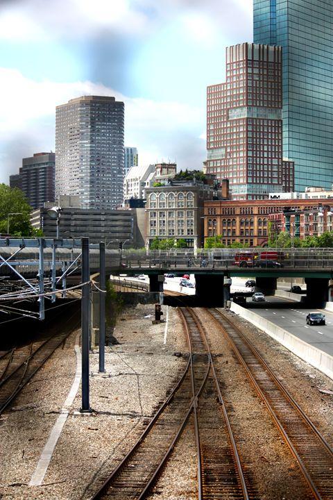 Railroad Tracks - Emily Sobiecki