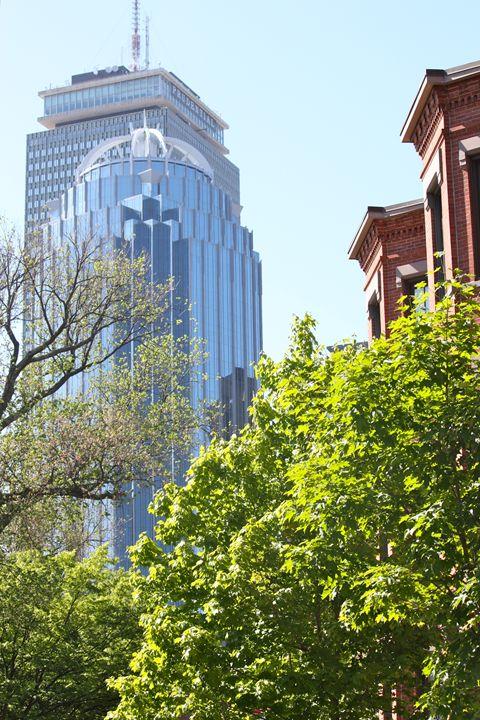 Prudential Center View - South End - Emily Sobiecki