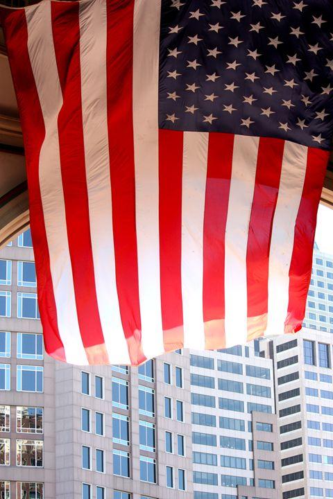 Memorial Day Flag - Emily Sobiecki