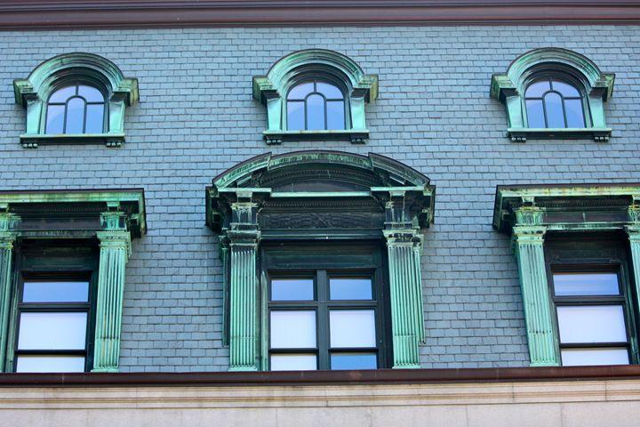 Courthouse Windows - Emily Sobiecki