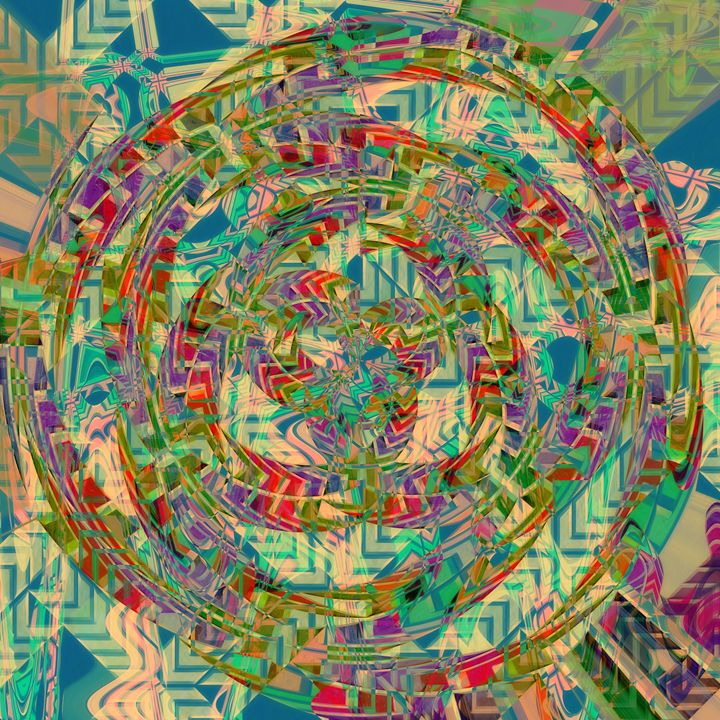 Abstract Circle of Peace - P.Halliwell