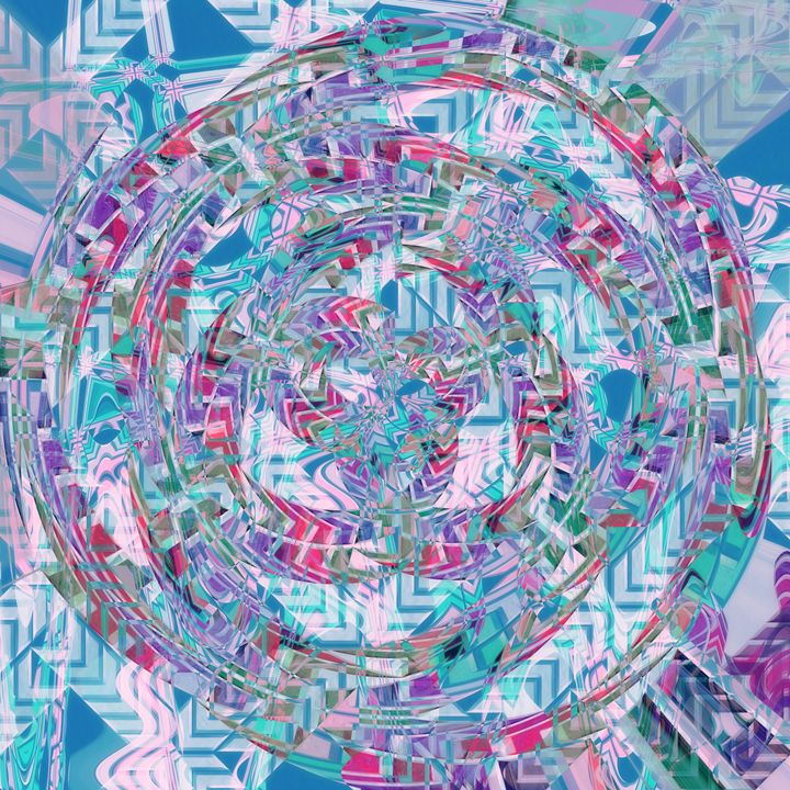 Abstract Circle of Inner Harmony - P.Halliwell