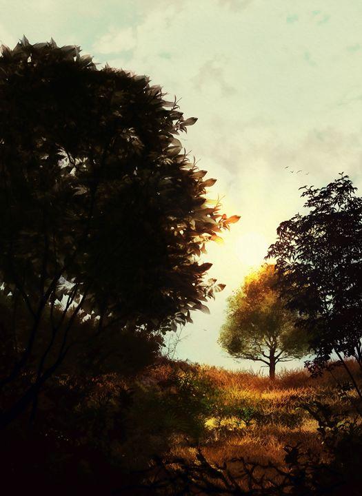 Almost Sundown - P.Halliwell