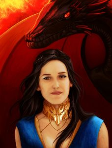 Fire and Blood (Black Hair)
