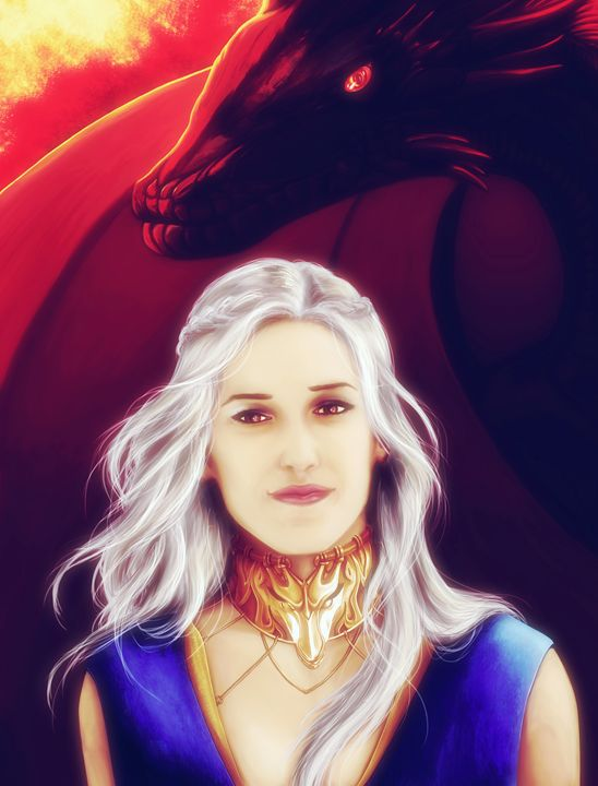 Fire and Blood (Silver Hair) - P.Halliwell
