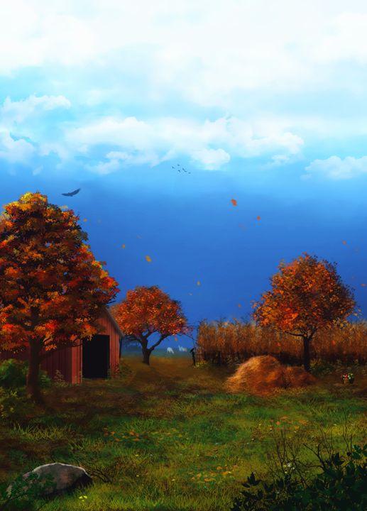 Autumn Day - P.Halliwell