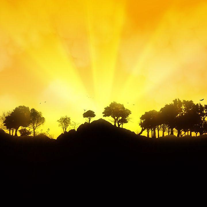 Sunset - P.Halliwell