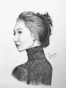 Portrait Drawing (girl)