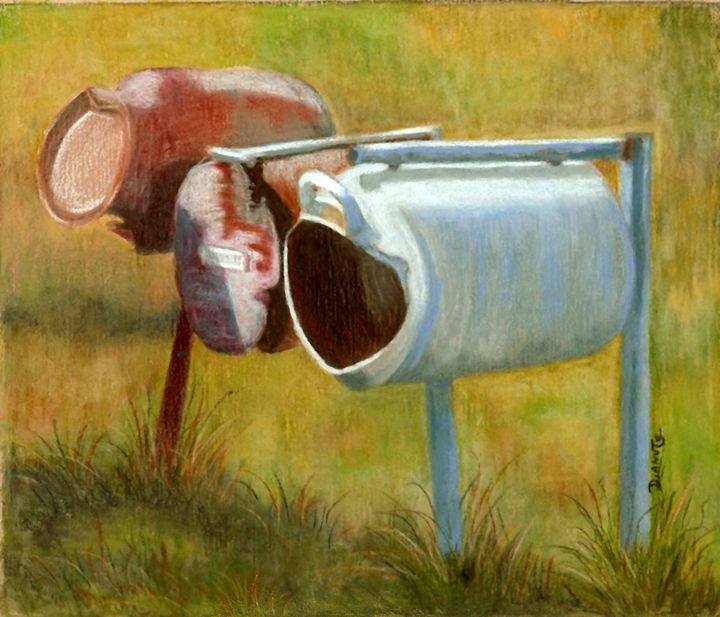 Aussie Mail - Dianne Tumey's Artworks