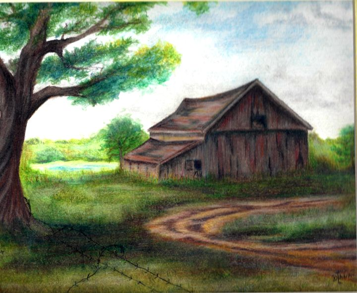 The Old Barn - Dianne Tumey's Artworks