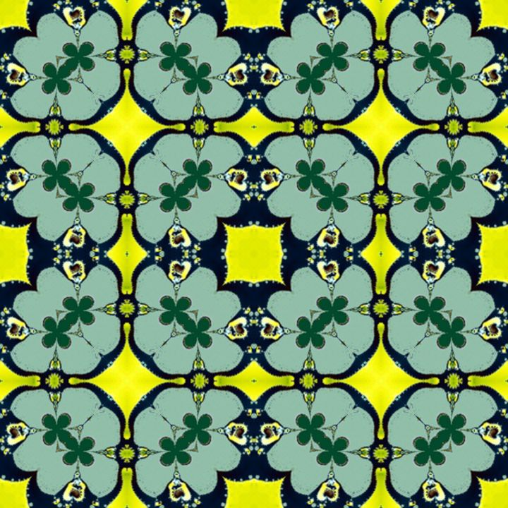 Kaleidoscopic wallpaper tiles - Patterns