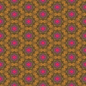 Kaleidoscopic wallpaper tiles