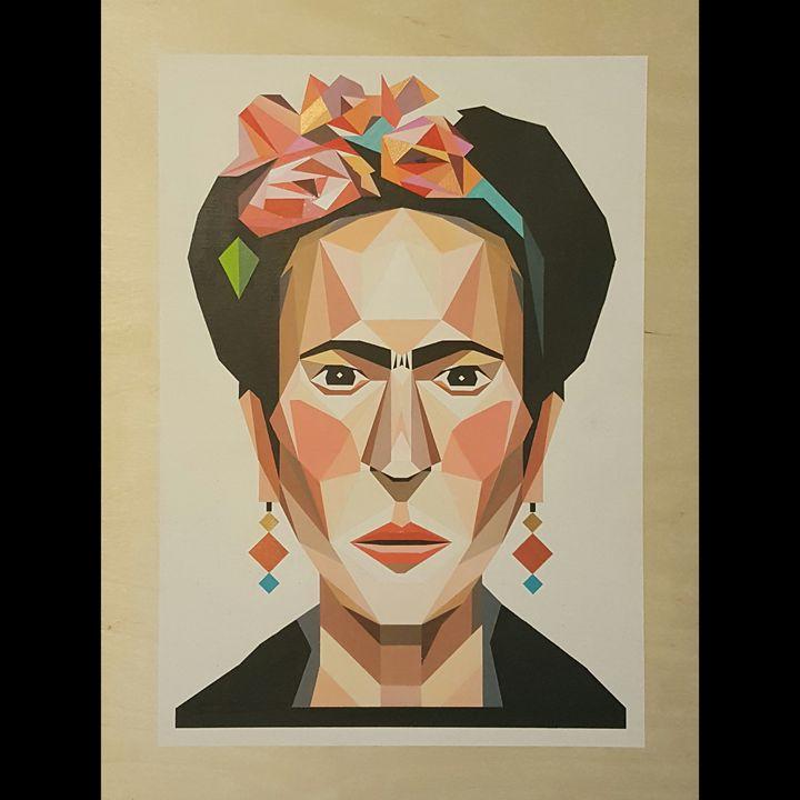Frida Kahlo - Paintings by Esteban Barron