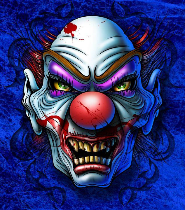 Circus Clown - RJMN Illustrations