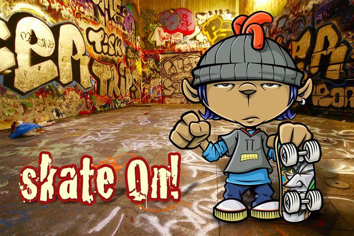 Skate On! - RJMN Illustrations