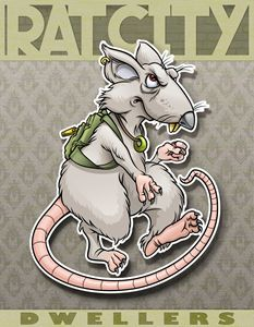 Ratcity Dwellers Poster - RJM Illustrations