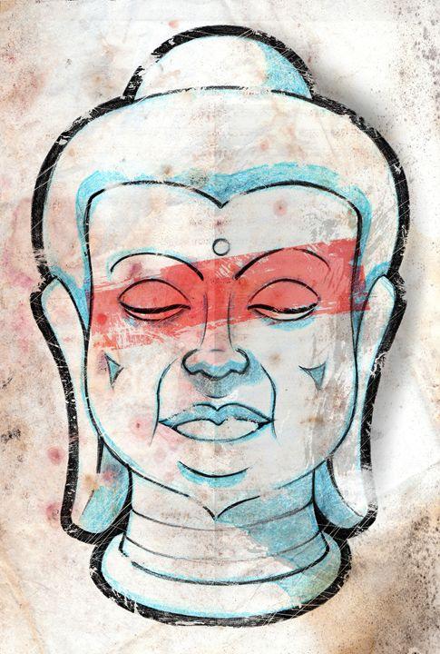 Zen Buddha - RJMN Illustrations