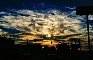 A Sunset in Toledo, Ohio