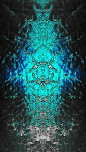 Blueish Green Abstract