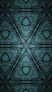 Grayish Green Kaleidoscope
