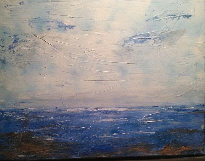 Oceans Blue - Jules Art Studio