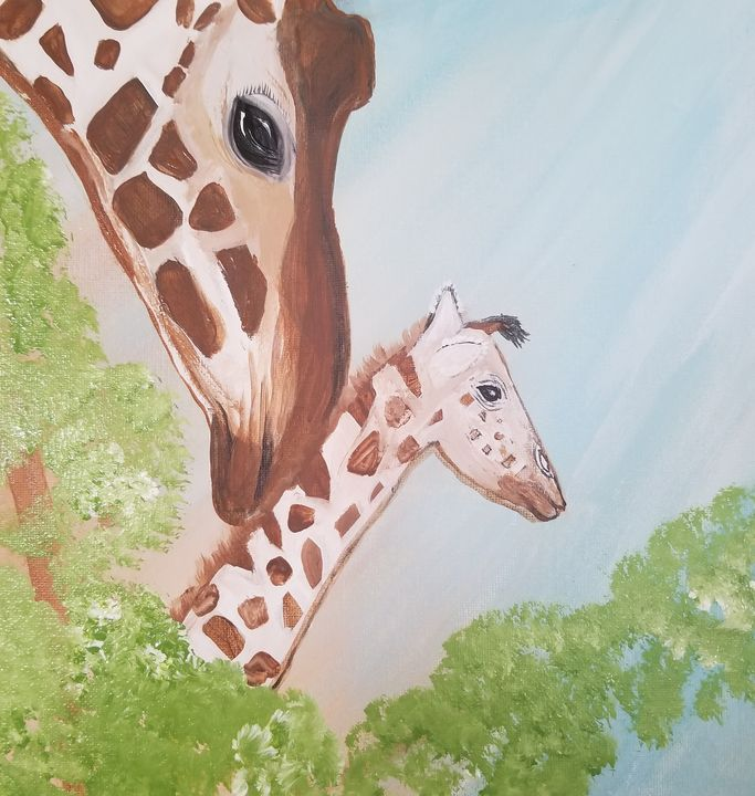 A mamas love - Paintings by J. Silverman