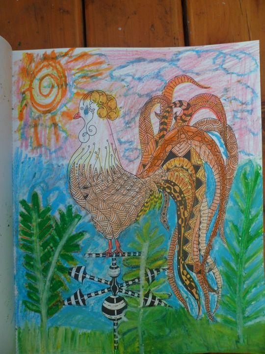turkey - Nina's art