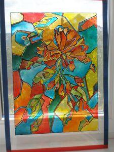 Shattered flowers